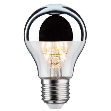 Ampoule LED std 7,5 watts E27 calotte argentée 230 V blanc chaud