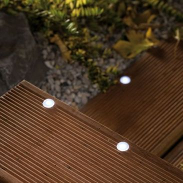 Mini spot LED x 5 pour terrasse - Pack d'extension