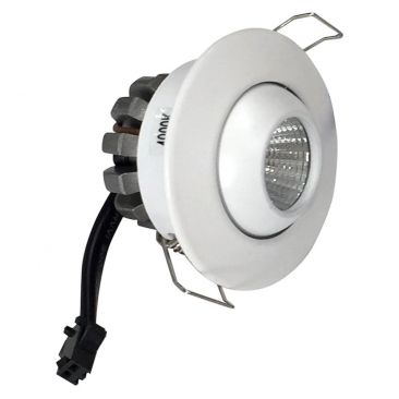 Mini spot LED orientable