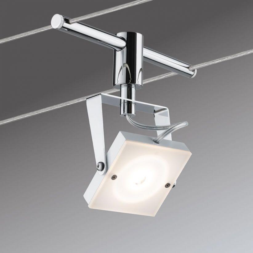 Spot LED sur câbles Méta