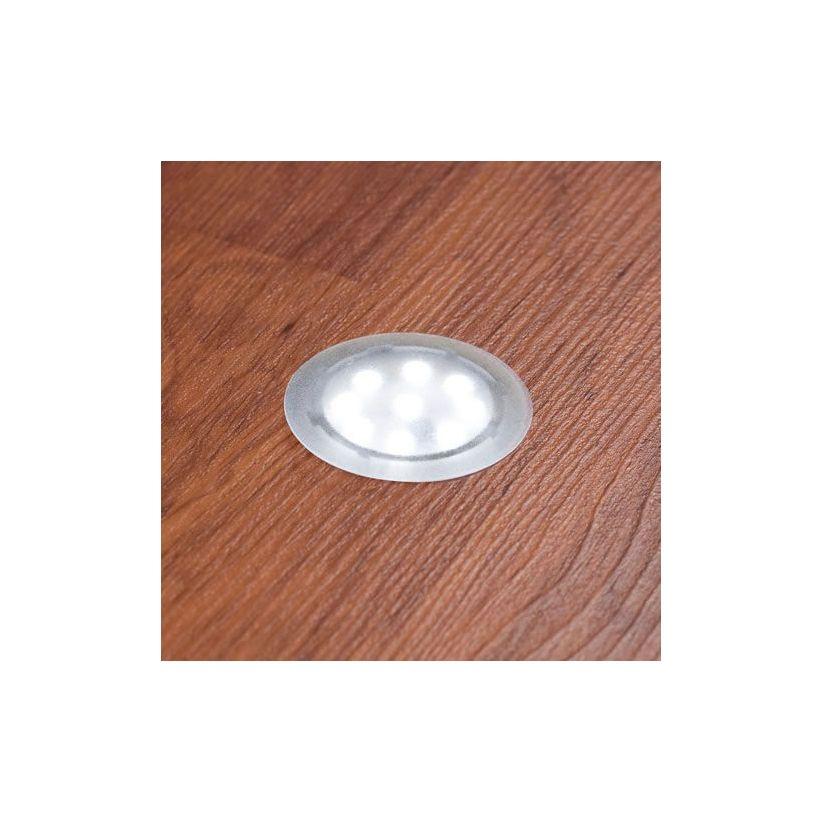 Pack 3 ou 6 spots LED pour le sol Updownlight transparent