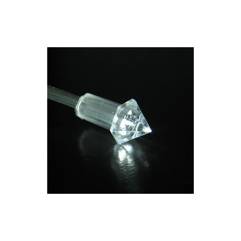 Pack 100 embouts plastique diamant