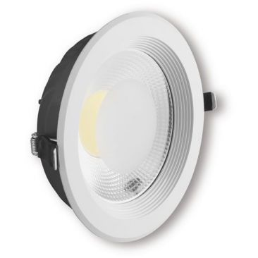 Spot LED COB encastrable rond type downlight