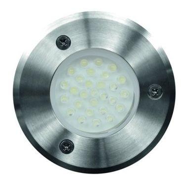Spot LED 12V RVB + blanc chaud pour abords de piscine