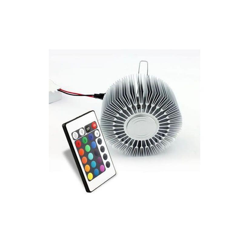 Applique LED Soleil RVB avec télécommande