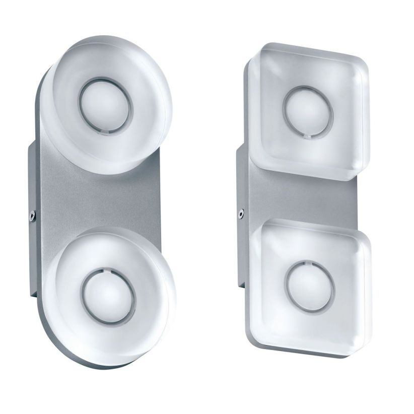Applique LED Tucana 2 spots ronds ou carres