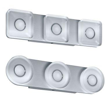 Applique LED Tucana 3 spots ronds ou carrés