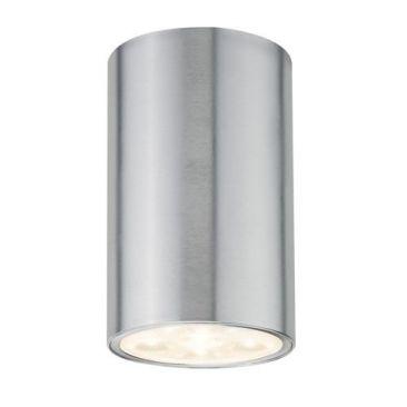 Plafonnier LED barrel silver