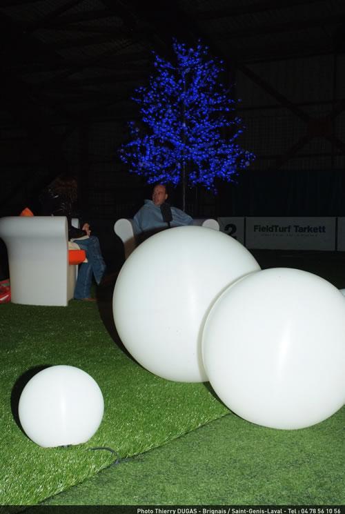 Les Sphères lumineuses de Lux Et Deco