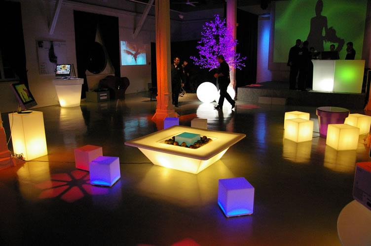Décoration lumineus de LED LOCATION