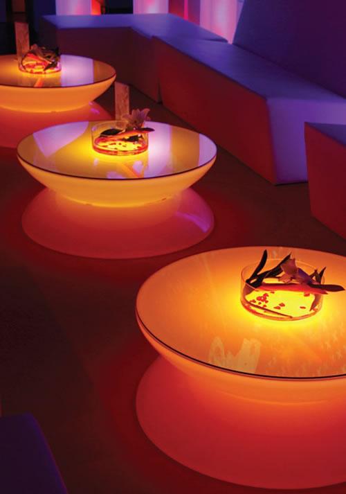 Ambiance LED assurée