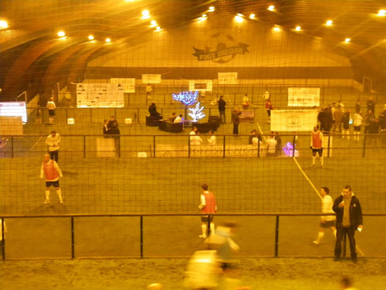 Foot Indoor en fête