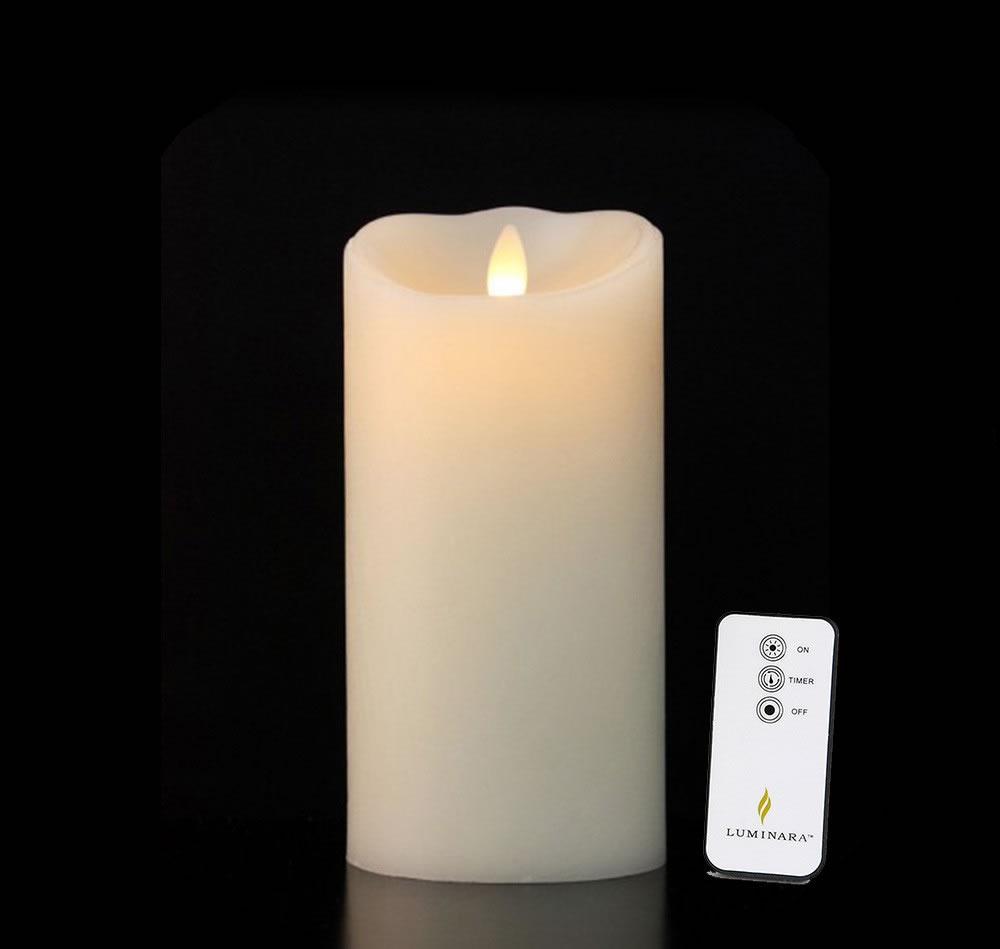 Bougie LED languette Lumina