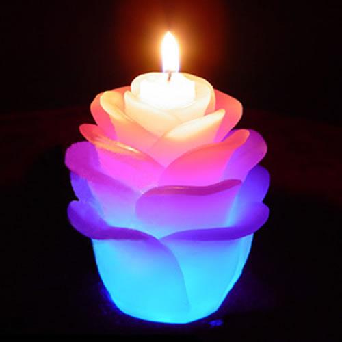 Bougies en cire véritable Lotus