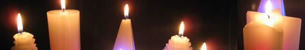 bougies magiques led