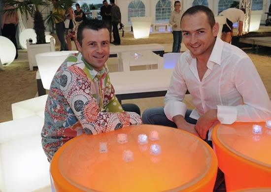 Jean-François Bochard et Eric Marcel  créateurs de Design Bois