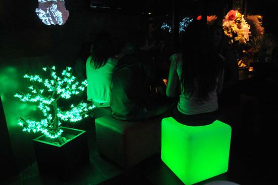 cubes lumineux à led rechargeables
