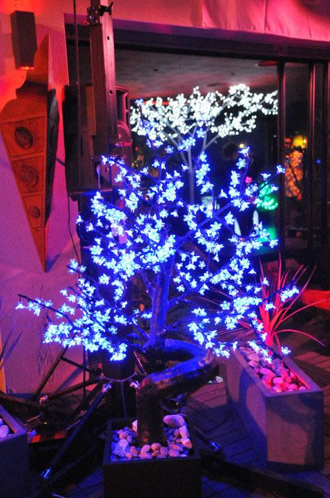 arbre lumineux : le cerisier led