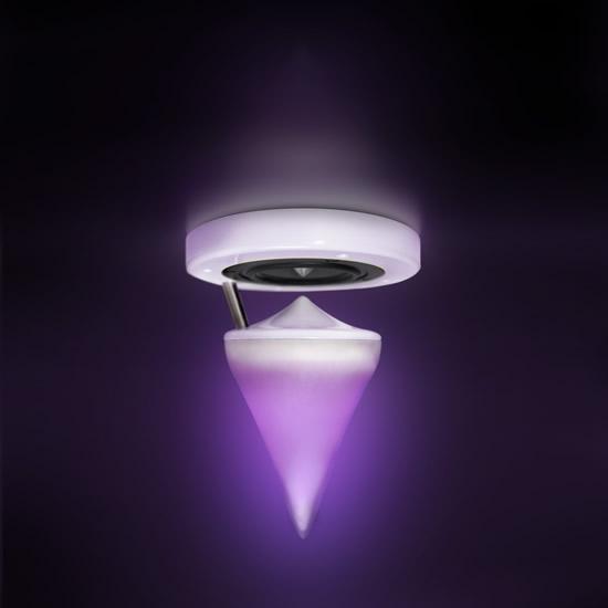 Enceinte SOEE led violette