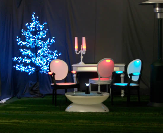 Mobilier lumineux Philippe Boulet