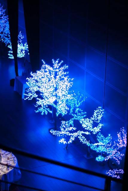 arbres led