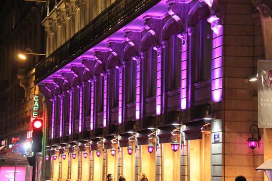 projecteur led facade