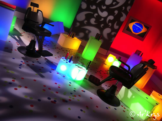 Cubes lumineux