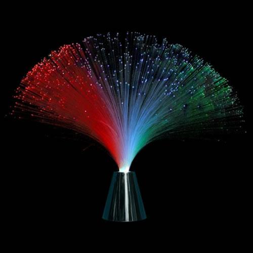 Centre de table fibre optique