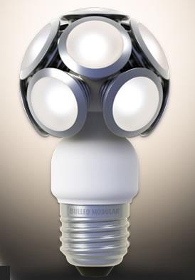 Ampoules led design : modèle Modular