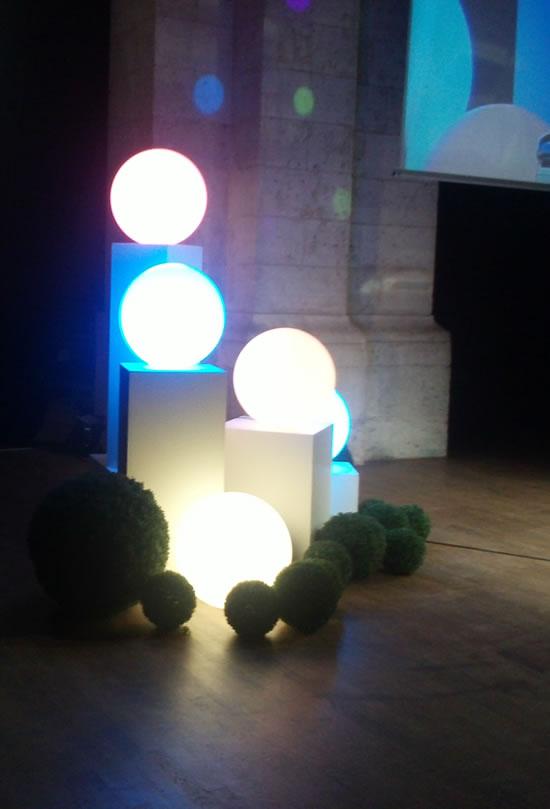 Boules lumineuses de LUX ET DECO