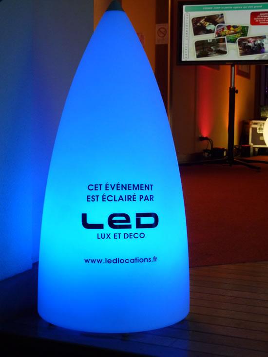 LED LOCATION partenaire de Cosmik Jump