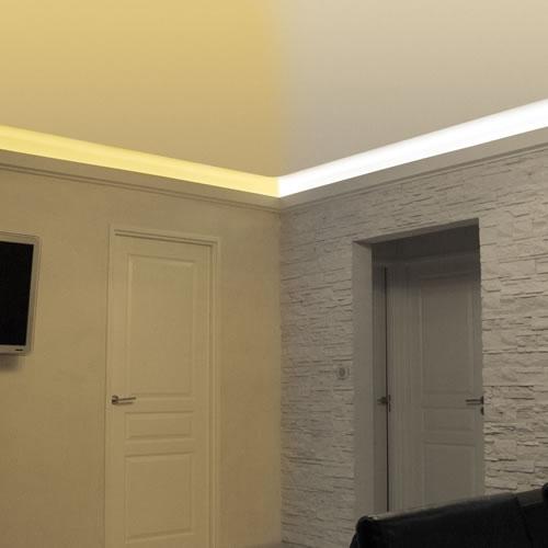 Eclairage LED blanc froid et blanc chaud