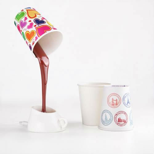 Lampe LED café ou chocolat