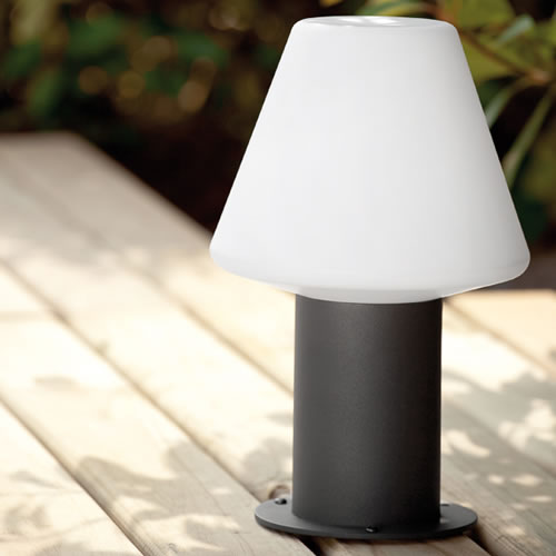 Borne lumineuse chapeau de lampe Mitsu