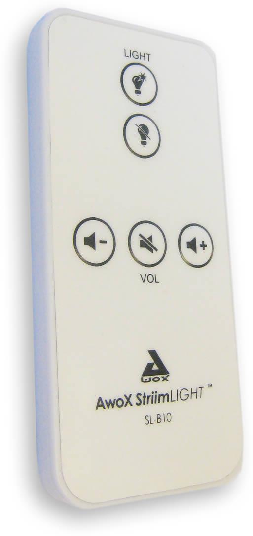 La télécommande de l'ampoule LED musicale