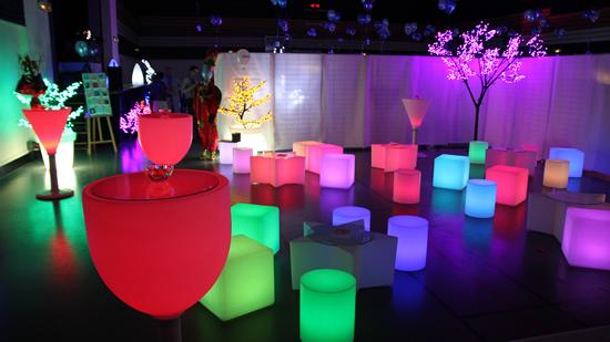 Challenge d co led blog - Decoration boite de nuit ...