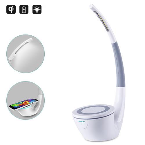 Chargeur de téléphone et lampe LED design