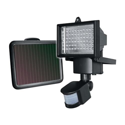 Projecteur LED solaire avec détecteur