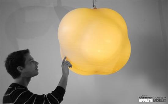 Un luminaire très design : Inziair