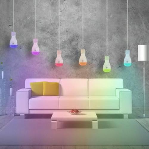 Les lampes LED couleurs et le bien-être