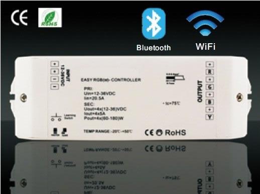 Contrôleur LED RGB Wi Fi