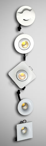 Mini spots LED collection White