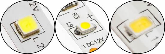 Différents type de LED SMD