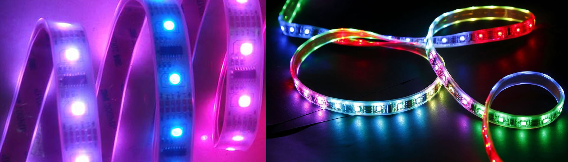 Rubans LED couleurs