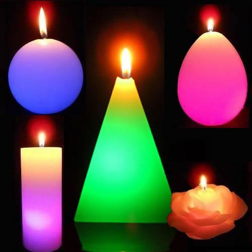 Les bougies magique LUX ET DECO