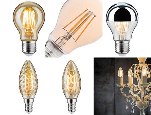 Ampoules déco à filament