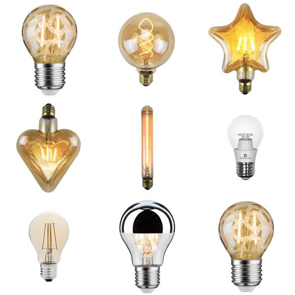 Les ampoules à filament LED