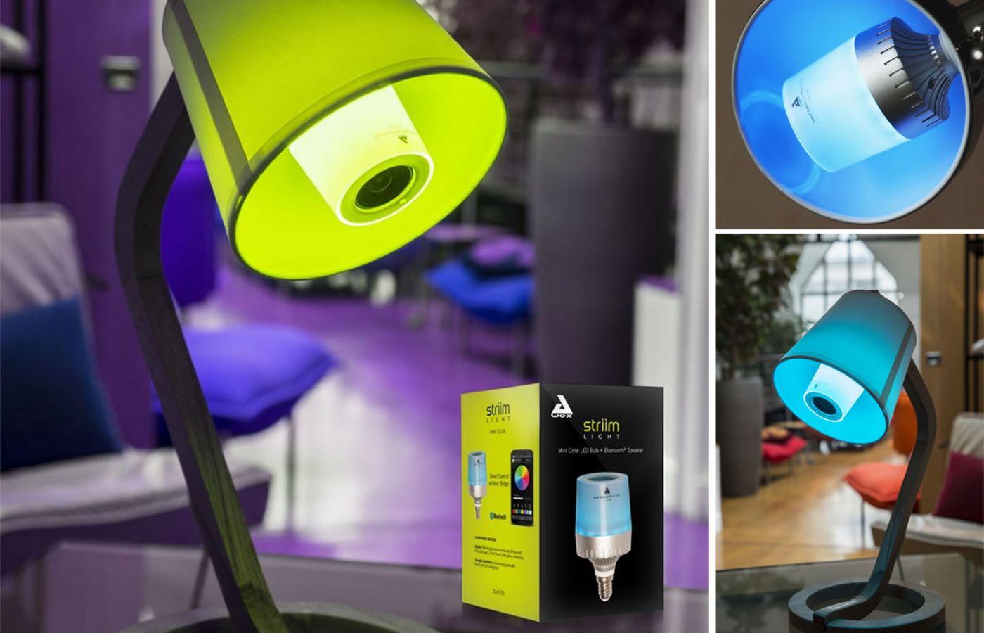 Les ampoules connectées avec haut-parleur