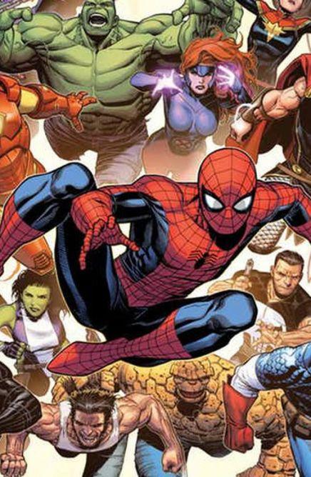 Livres lumineux Avengers Marvel