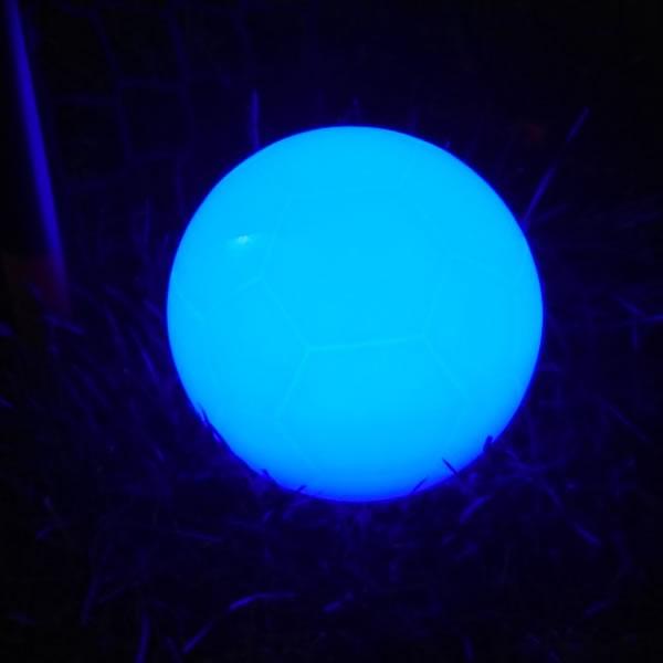 Ballon de foot lumineux LED